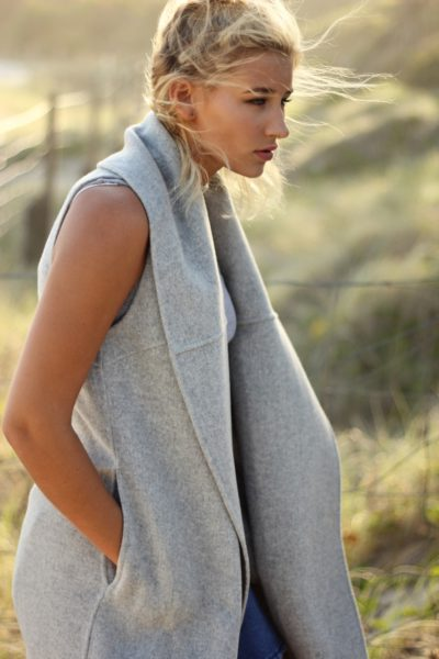 Warm & Relaxed Wrap Sweater